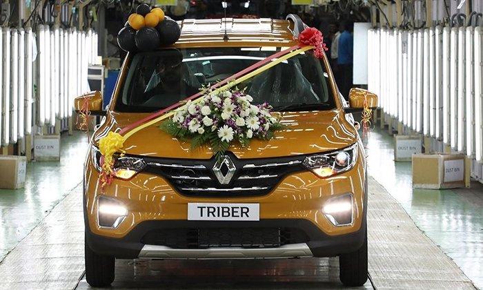 Стартовало серийное производство нового компактвэна Renault Triber