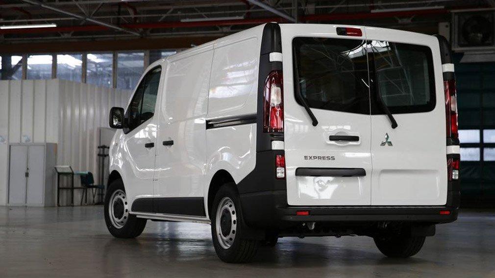 Mitsubishi презентовала новый коммерческий фургон
