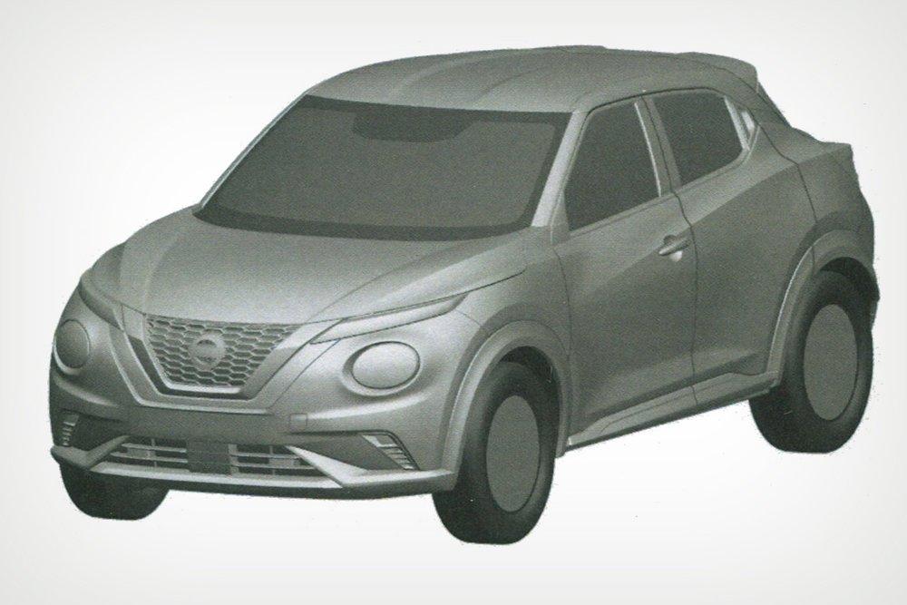 В России запатентовали кроссовер Nissan Juke нового поколения