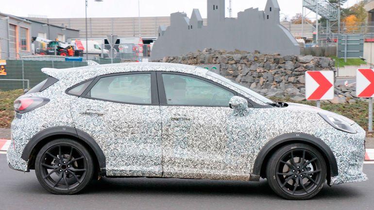 В интернете опубликовали тизер нового Ford Puma ST
