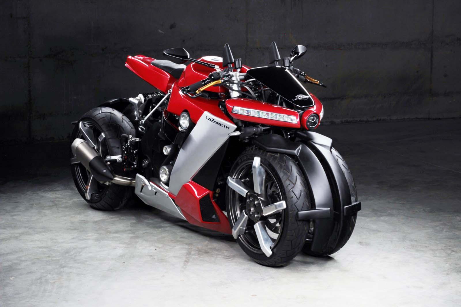 Представили 4-колесный мотоцикл Lazareth LM 410