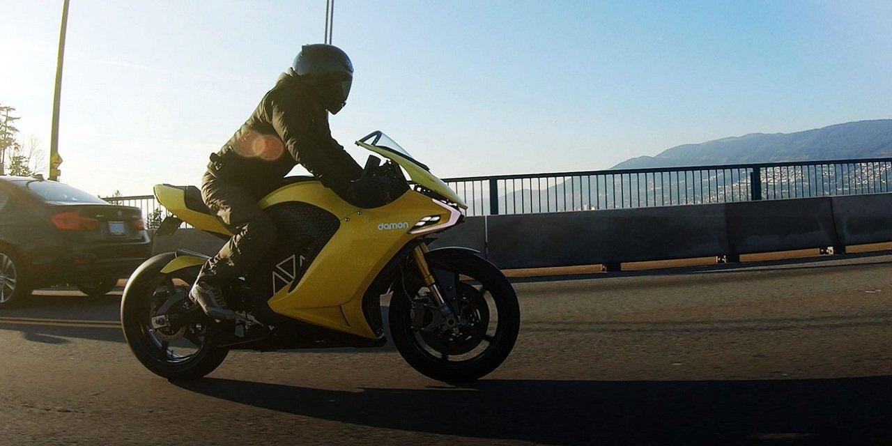 Damon Motorcycles перевернёт мир двухколёсной техники