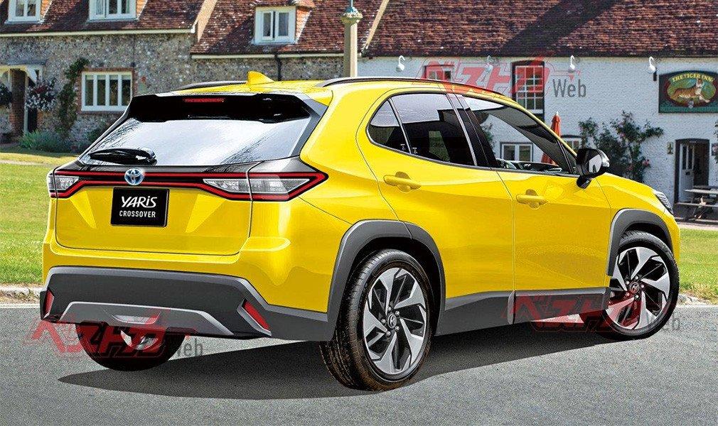 Обнародовали подробности о новом компактном кроссовере Toyota