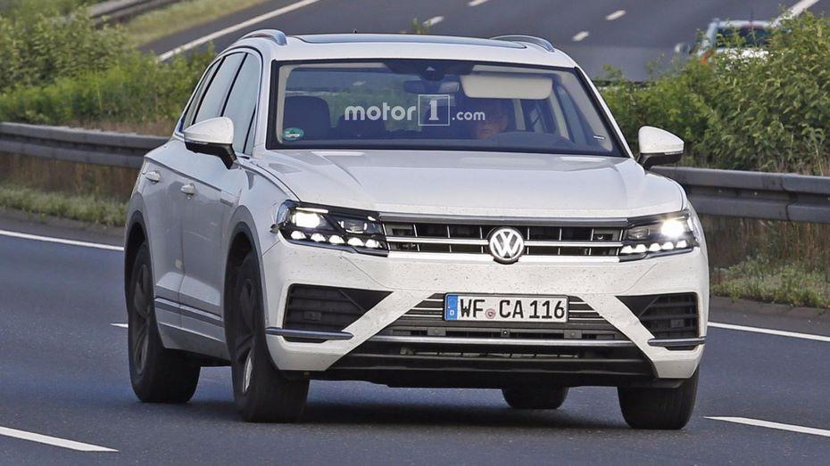 Обновленная версия VW Touareg будет представлена весной 2018 года