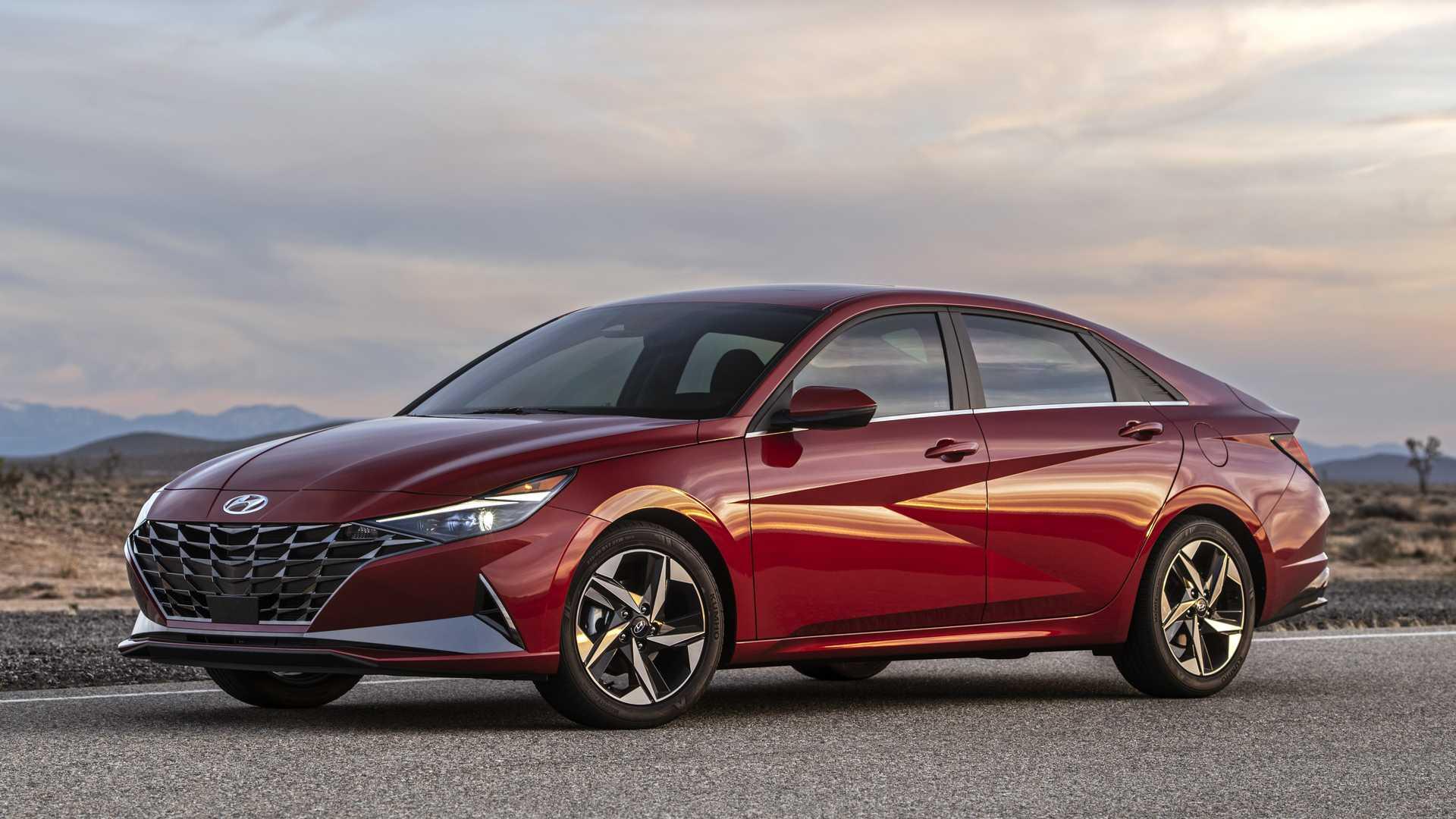 Чем является этот элемент салона нового поколения седана Hyundai?