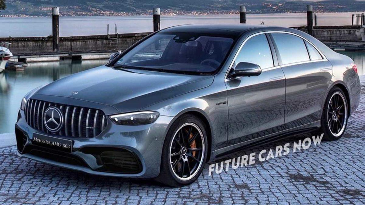 Новый Mercedes-AMG S63 продемонстрировали на рендере