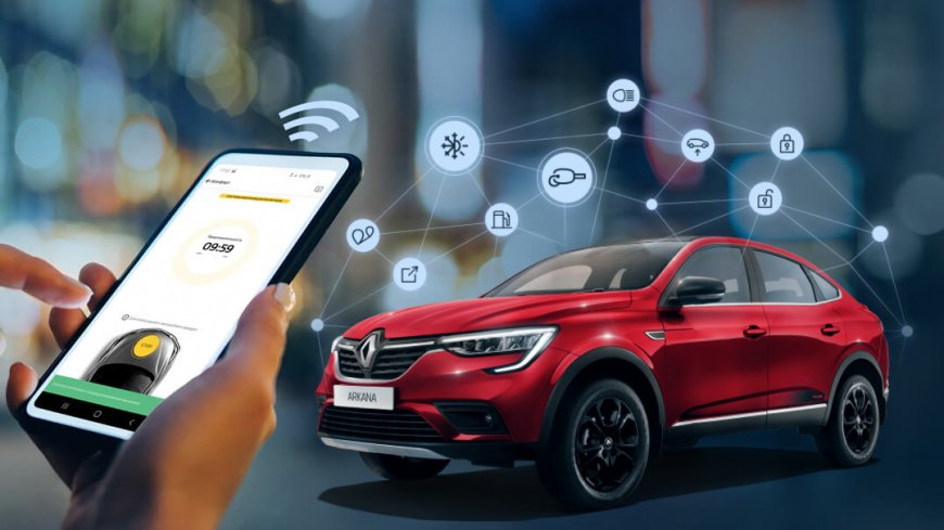 Компания Renault представила в России сервис дистанционного управления авто Renault Connect