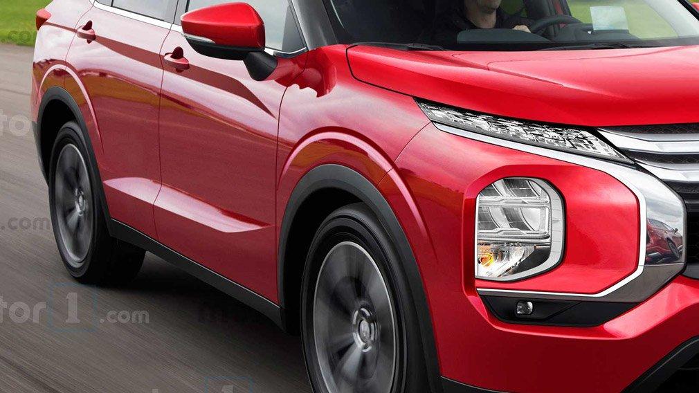 Фотографии обновленного Mitsubishi Outlander появились в Сети