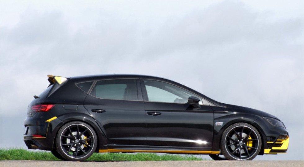 Сеат Leon Cupra JeDesign сумел достигнуть производительности Ауди RS3 Sportback