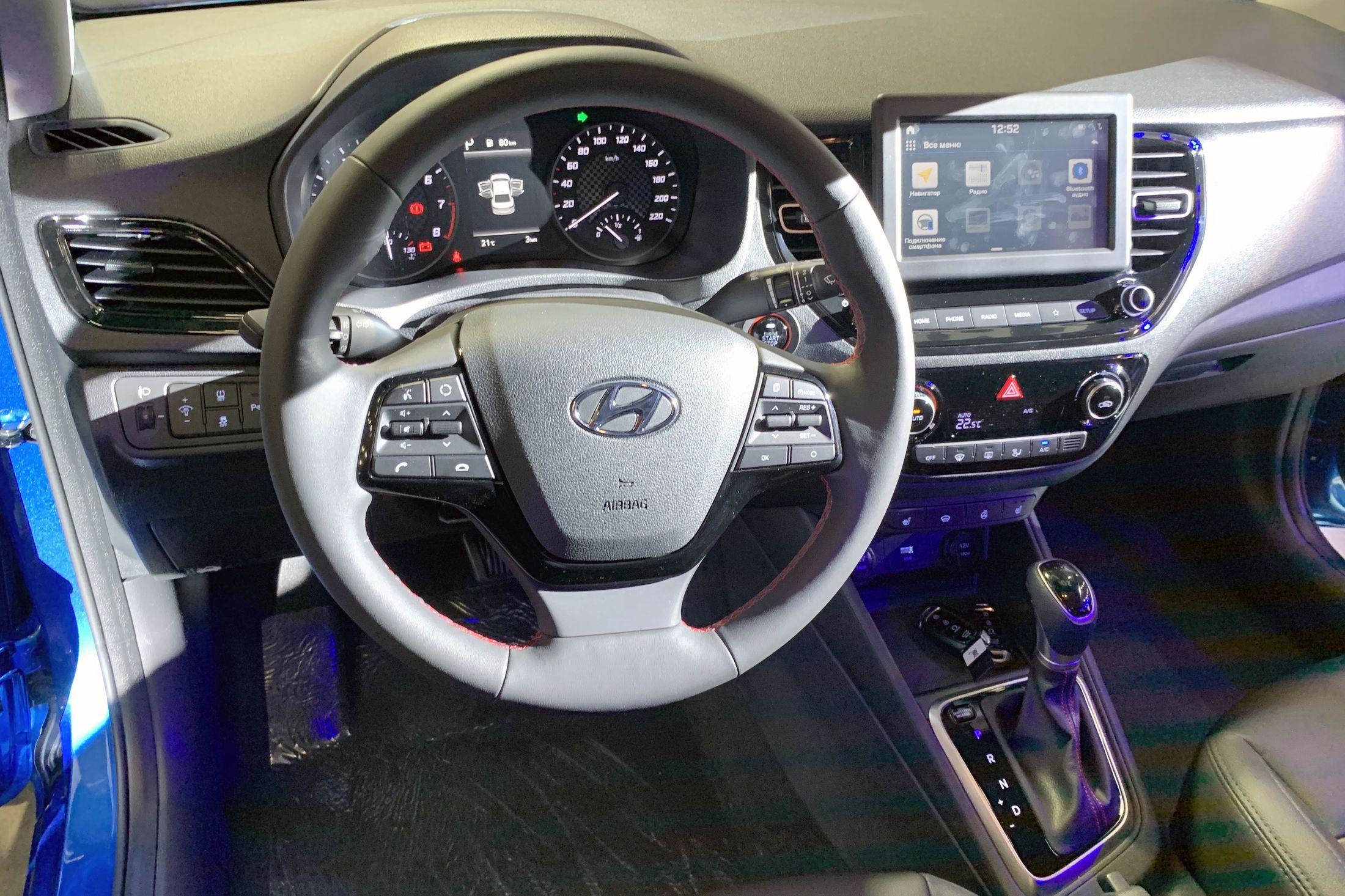 Продажи обновленных Hyundai Solaris и Creta стартовали в Санкт-Петербурге