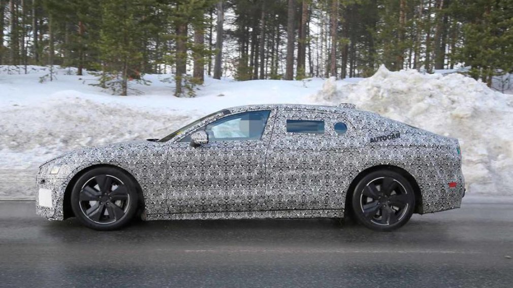 Новые фотографии электрического Jaguar XJ появились в Сети