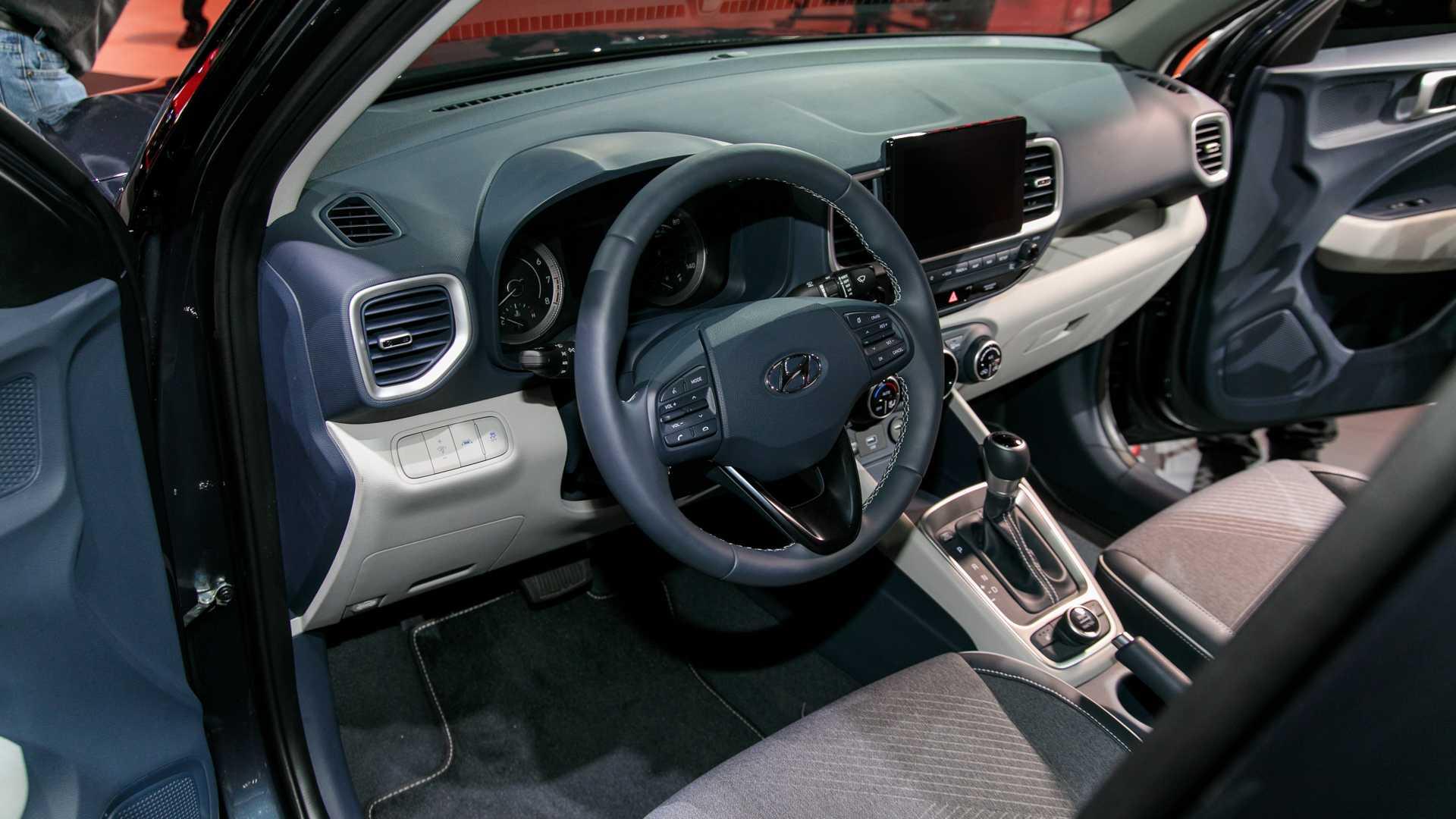 Hyundai опубликовал цены на небольшой кроссовер Venue 2020 года