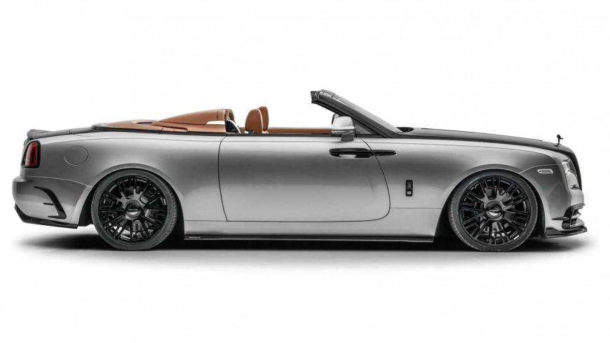 "Mansory представила ""красивую"" версию родстера Rolls-Royce Dawn Silver Bullet"