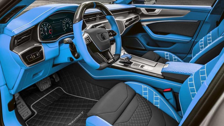 Представлена версия стильного Audi RS7 Sportback от ателье Mansory