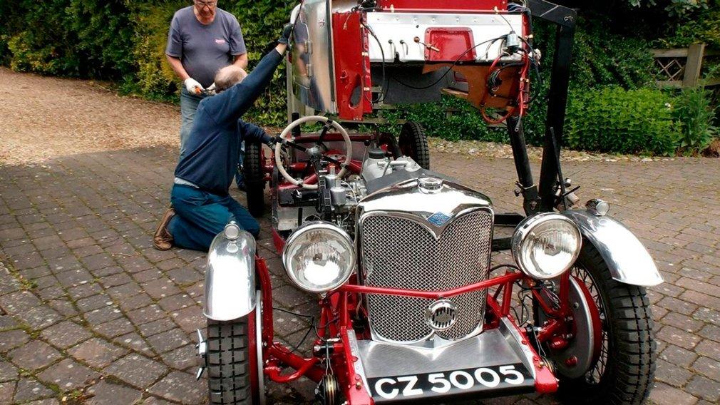 Раллийный автомобиль с 85-летней историей полностью восстановили после пожара