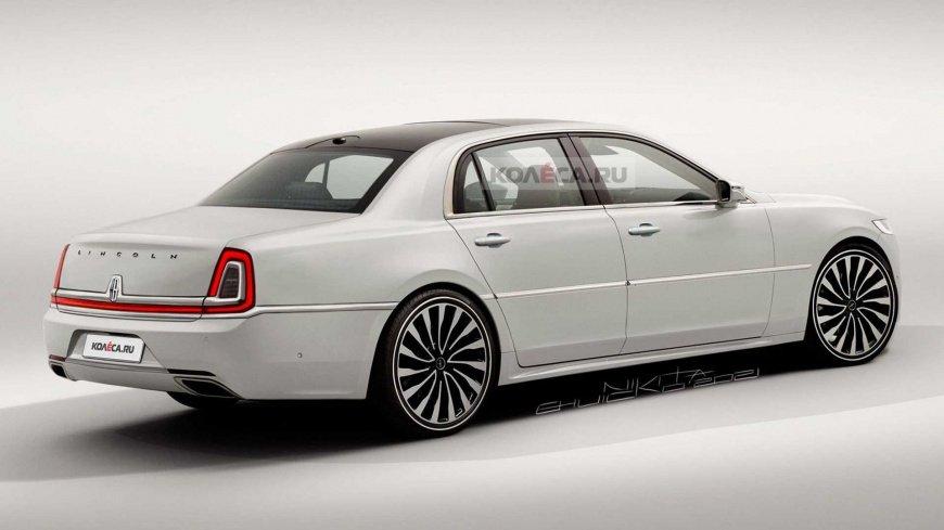 Представили полноценного приемника роскошного седана Lincoln Town Car