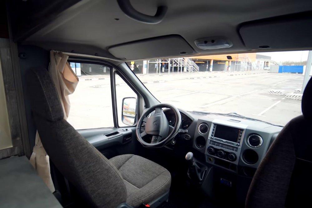 В РФ разработали автодом «Газель» Next за 3,5 млн рублей