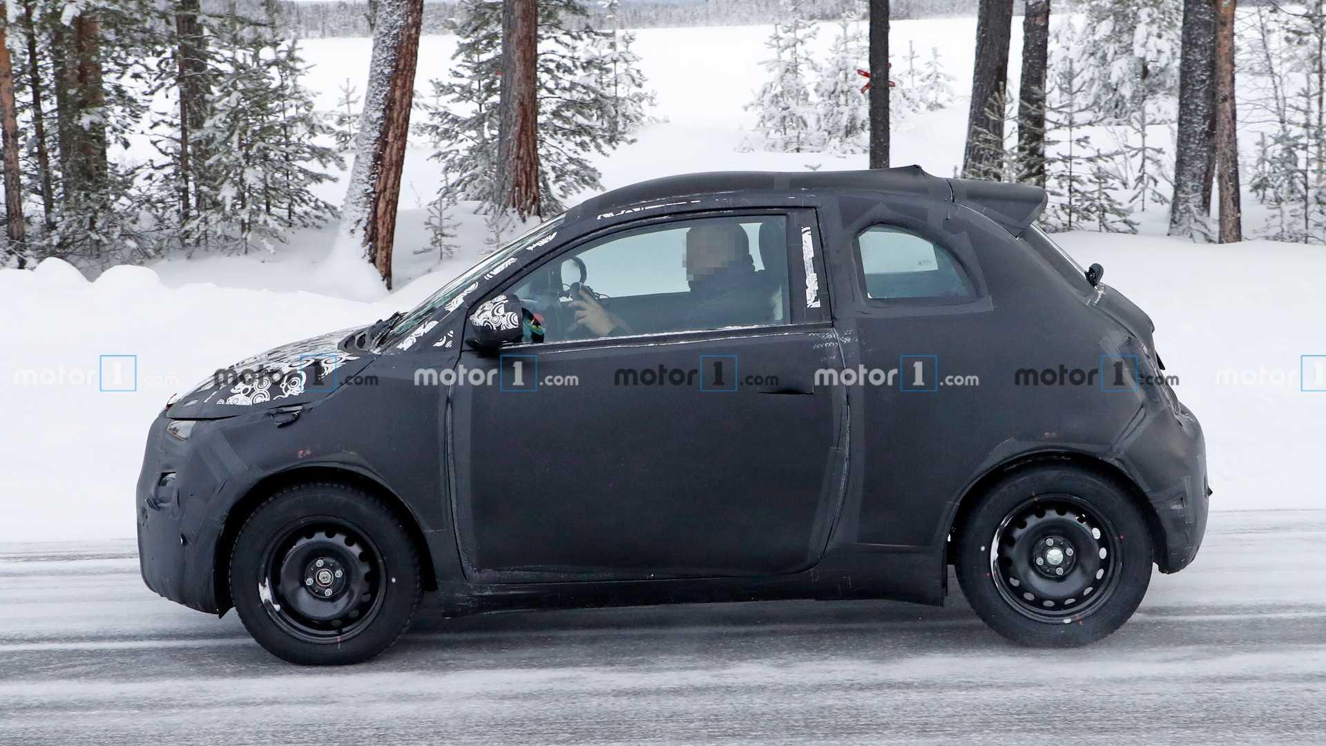 На тестах замечен электромобиль Fiat 500e следующего поколения
