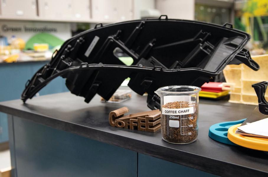 Ford и McDonald's создали пластик из кофейной шелухи