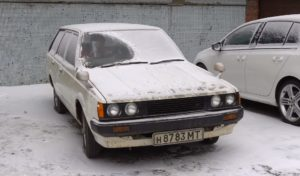 В РФ отыскали 32-летнюю Toyota, которая простояла 25 лет