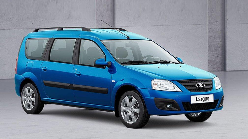 Lada Largus получил новый оригинальный оттенок кузова