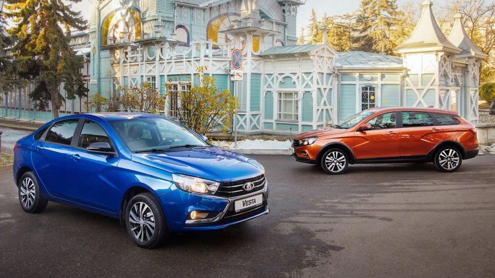 В России под отзыв попали почти 400 автомобилей LADA Vesta