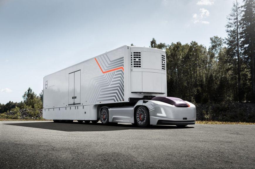 Volvo Vera: автономный электрический грузовик без кабины