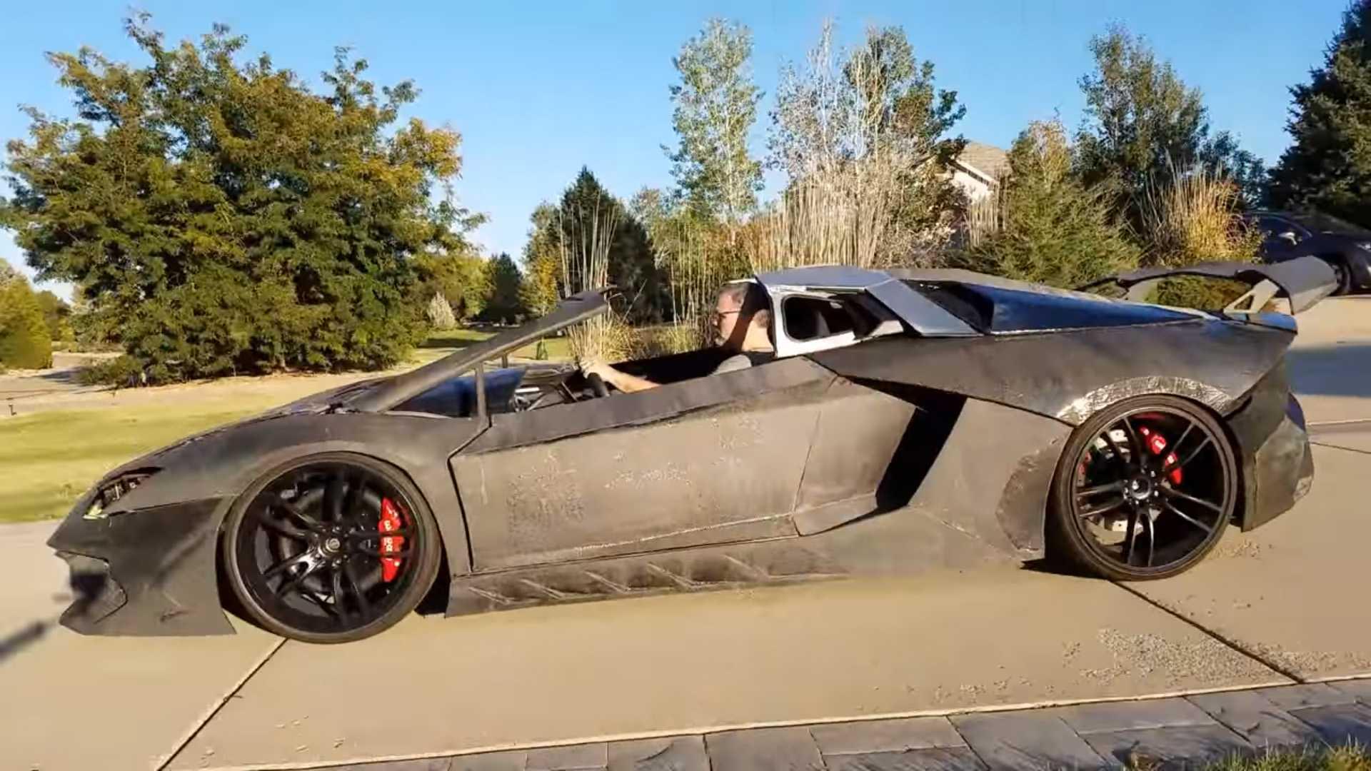 Папа распечатал для сына на 3D-принтере работающий Lamborghini Aventador