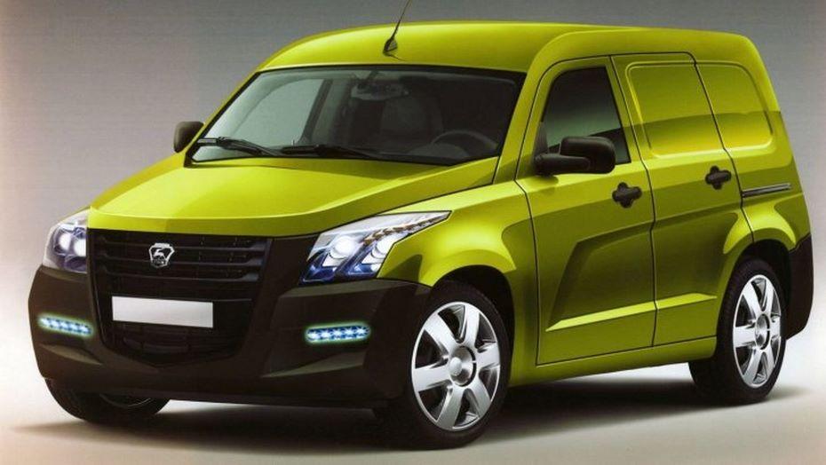 Фотографии  будущего легкового фургона ГАЗ NEXT появились вглобальной паутине