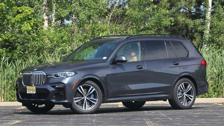 BMW X7 получит водородный двигатель в 2023 году