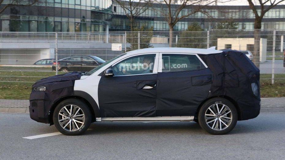 Компания Hyundai вывела рейсталинговый кроссовер Tucson 2019 на финальные тесты