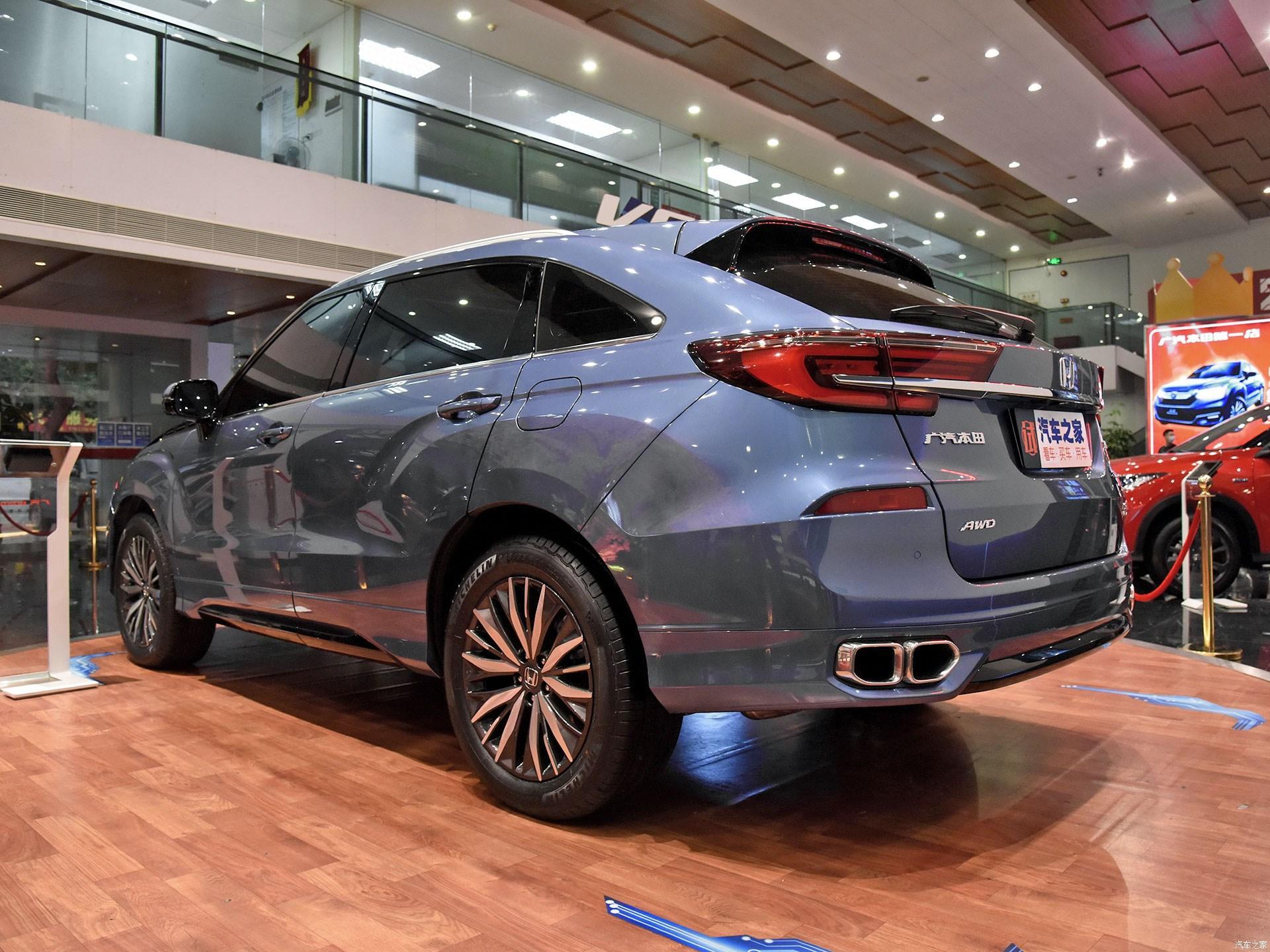 Обновленный кроссовер Honda Avancier поступил в продажу