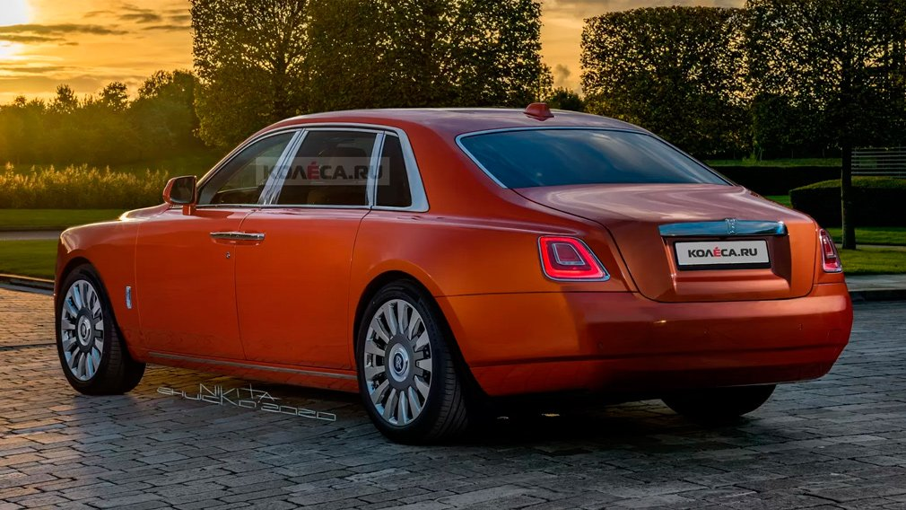 В Сети показали первые изображения нового Rolls-Royce Ghost