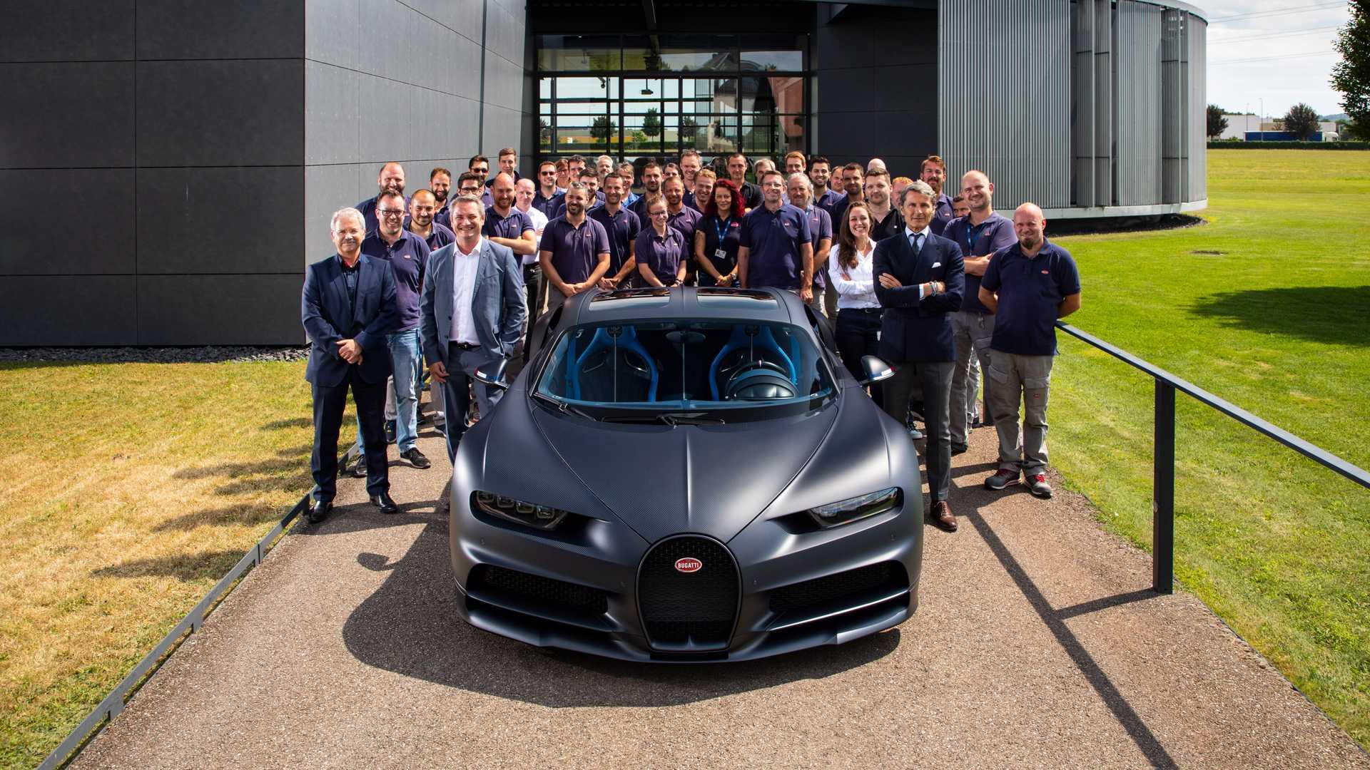 Bugatti: ДВС - это самый современны силовой агрегат