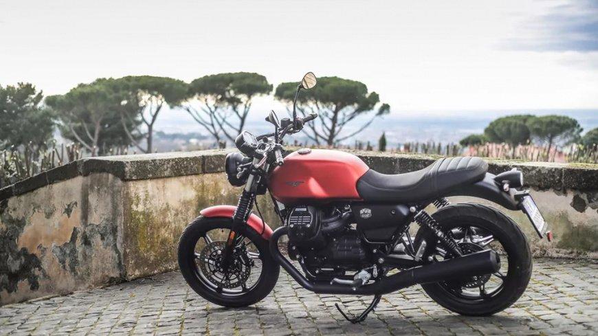 Итальянская компания Moto Guzzi обновила свой популярный мотоцикл V7