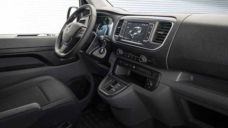 Компания Opel показала электрический фургон Vivaro-e