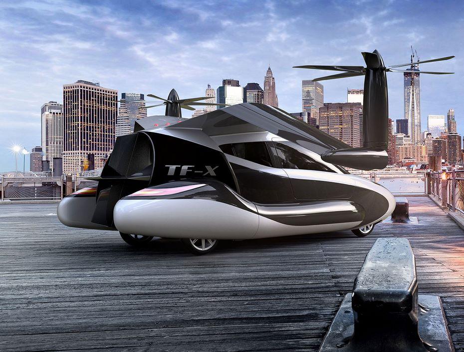 Geely купила Terrafugia для создания собственного летающего автомобиля