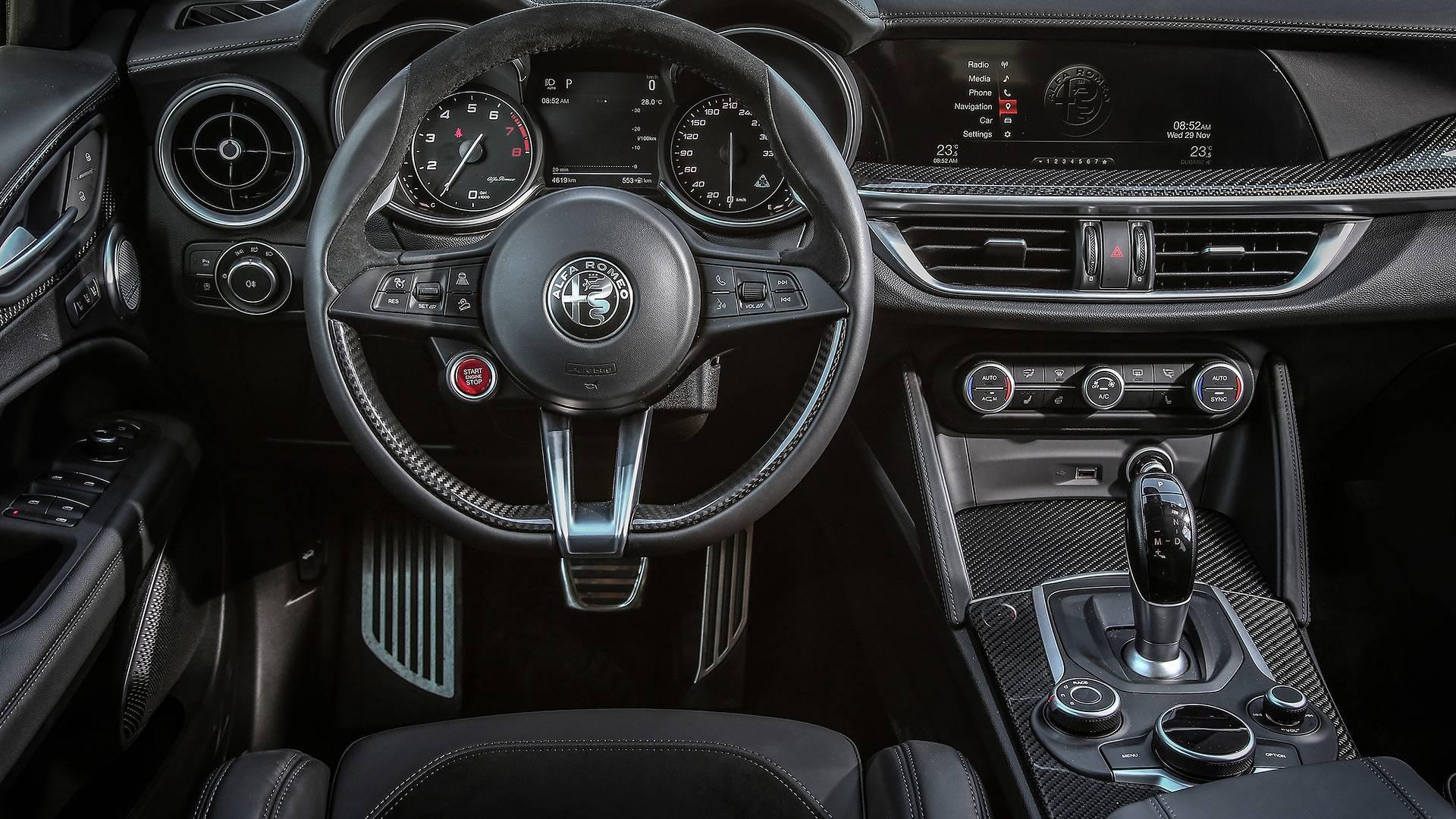 Кроссовер Alfa Romeo Stelvio не получит более мощную версию GTA