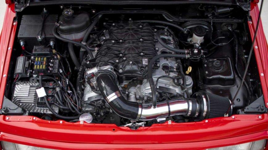 Внедорожник Geo Tracker 1996 получил мощный V6 от Camaro