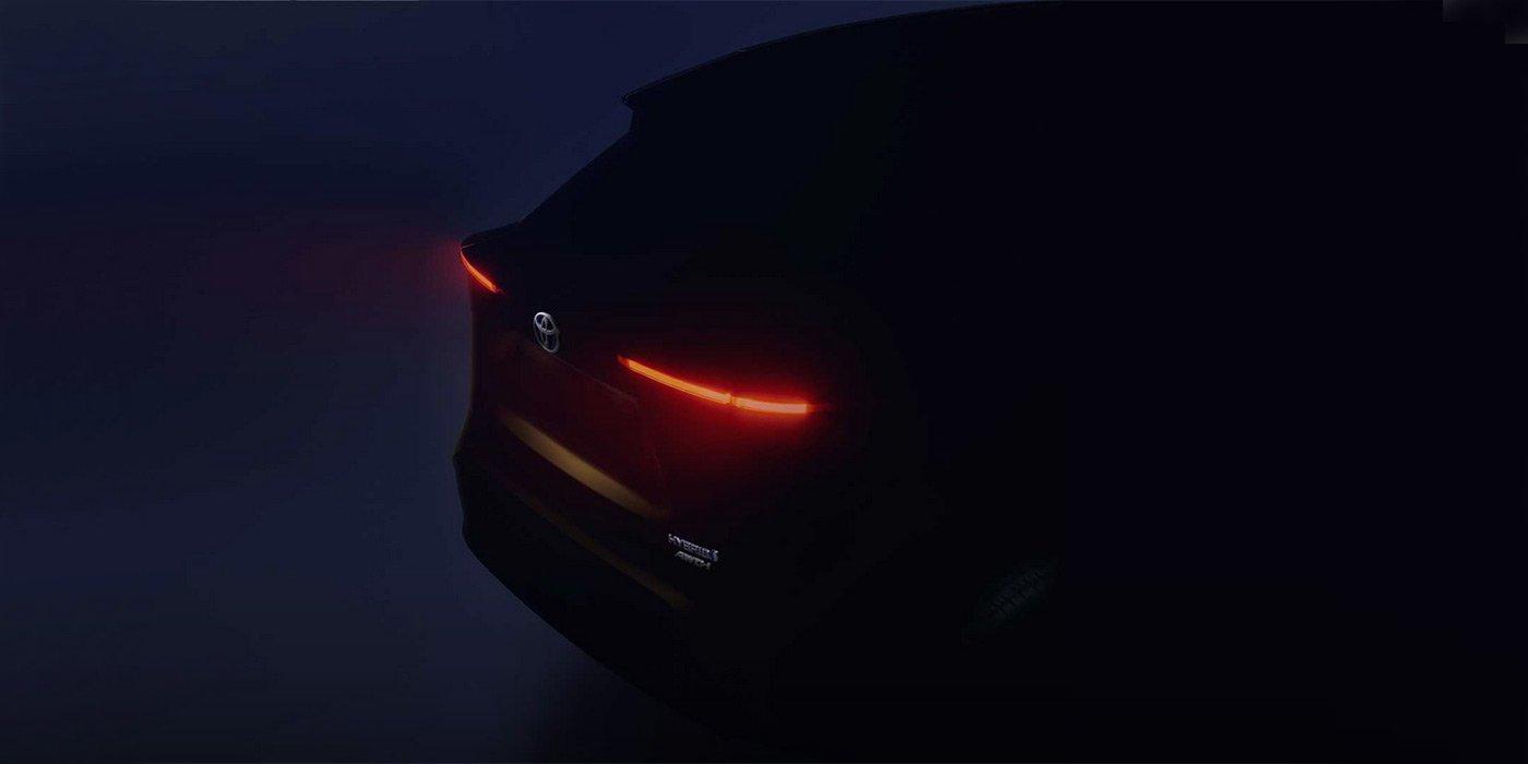 Toyota покажет в Женеве новый компактный кроссовер с полным приводом