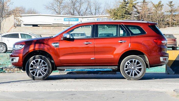 Обновленный внедорожник Ford Endeavour появился в продаже