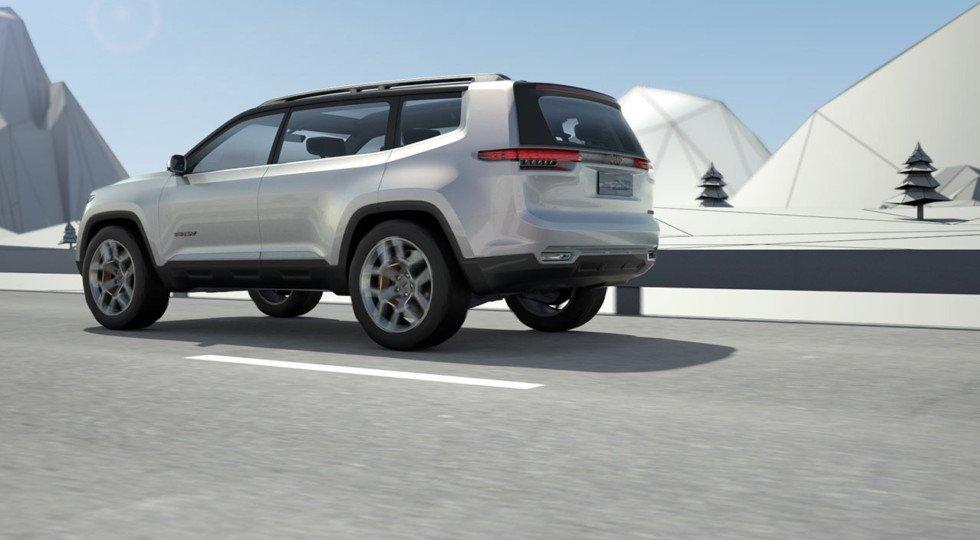 Chrysler рассекретил внешность нового джипа Jeep Yuntu