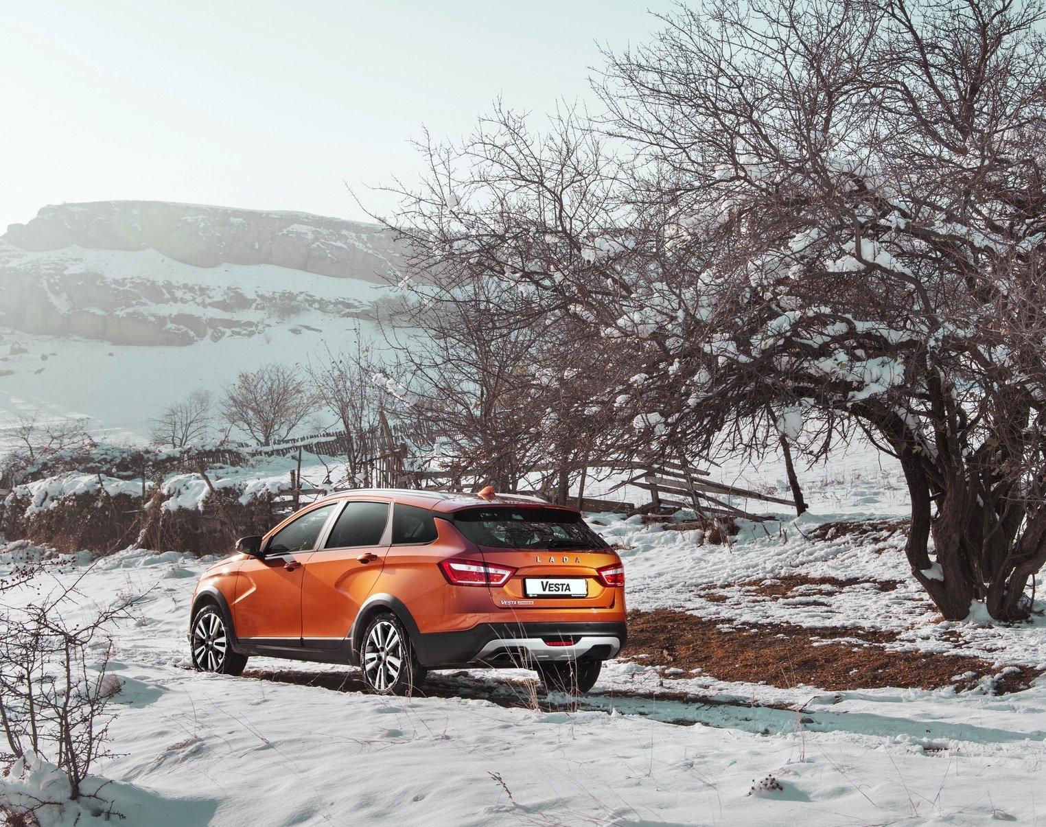 «АвтоВАЗ» приступил к выпуску «зимней» LADA Vesta