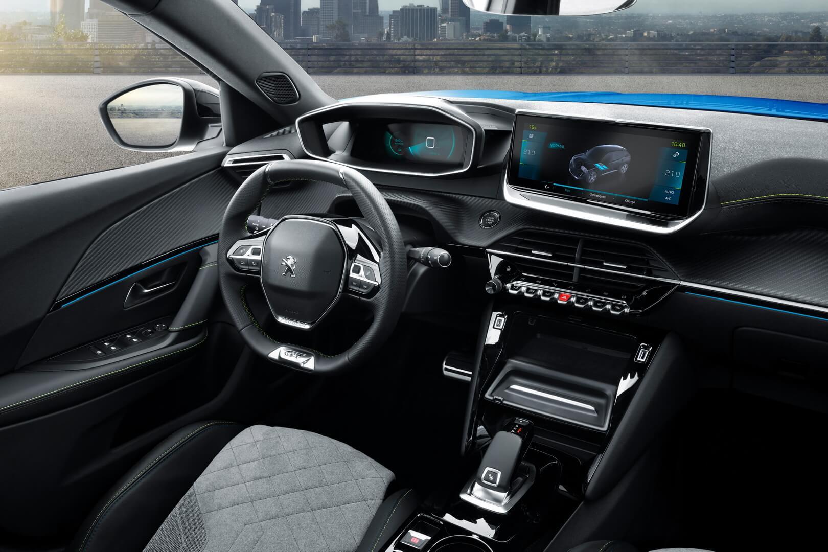 Peugeot представил электрическую версию кроссовера e-2008