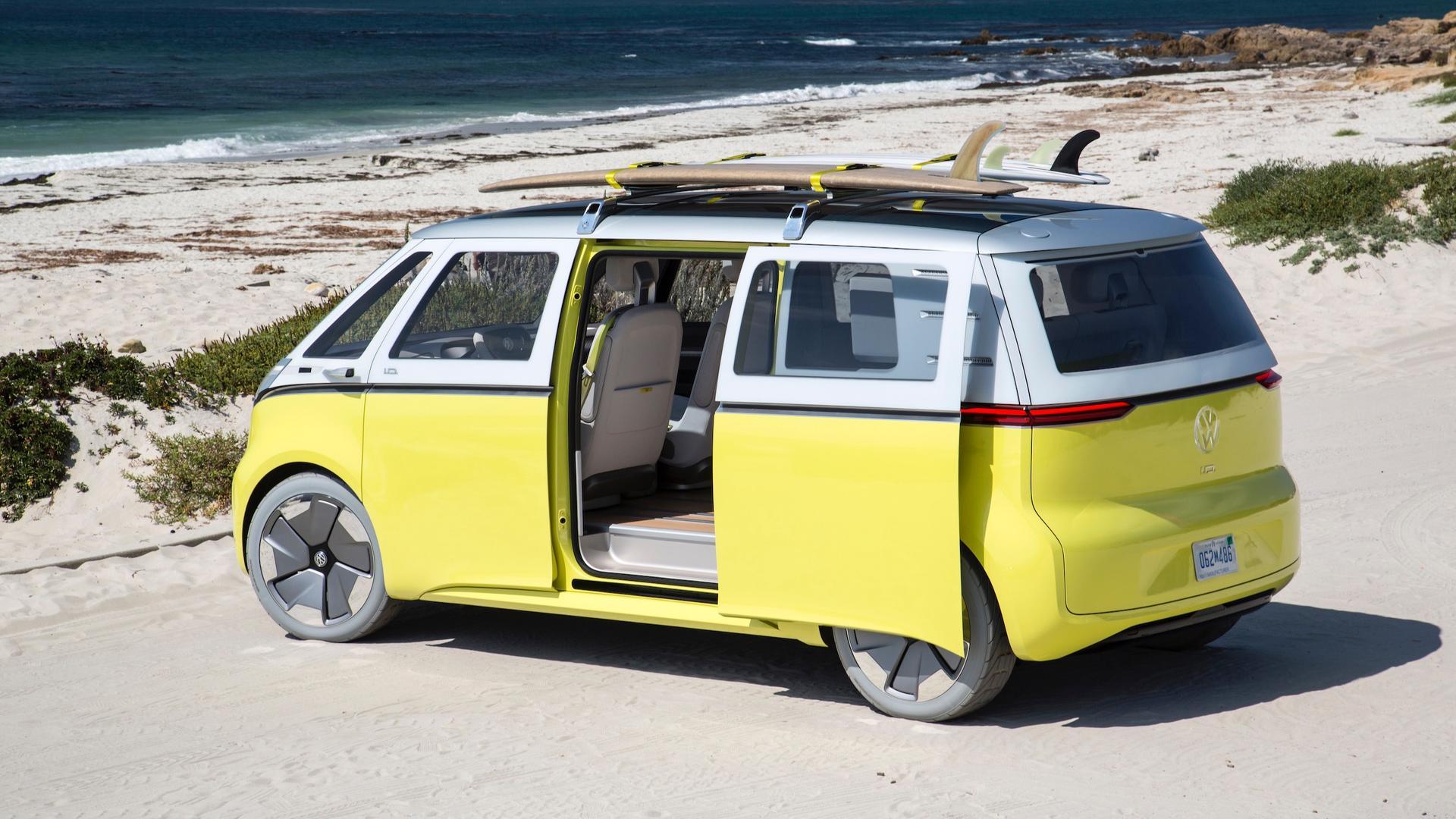 Электрический микроавтобус Volkswagen встанет на конвейер в Германии в 2022-ом