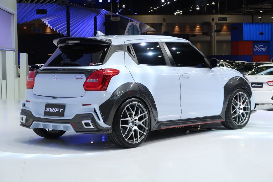 Suzuki представил концепт самого хэтча Swift Extreme