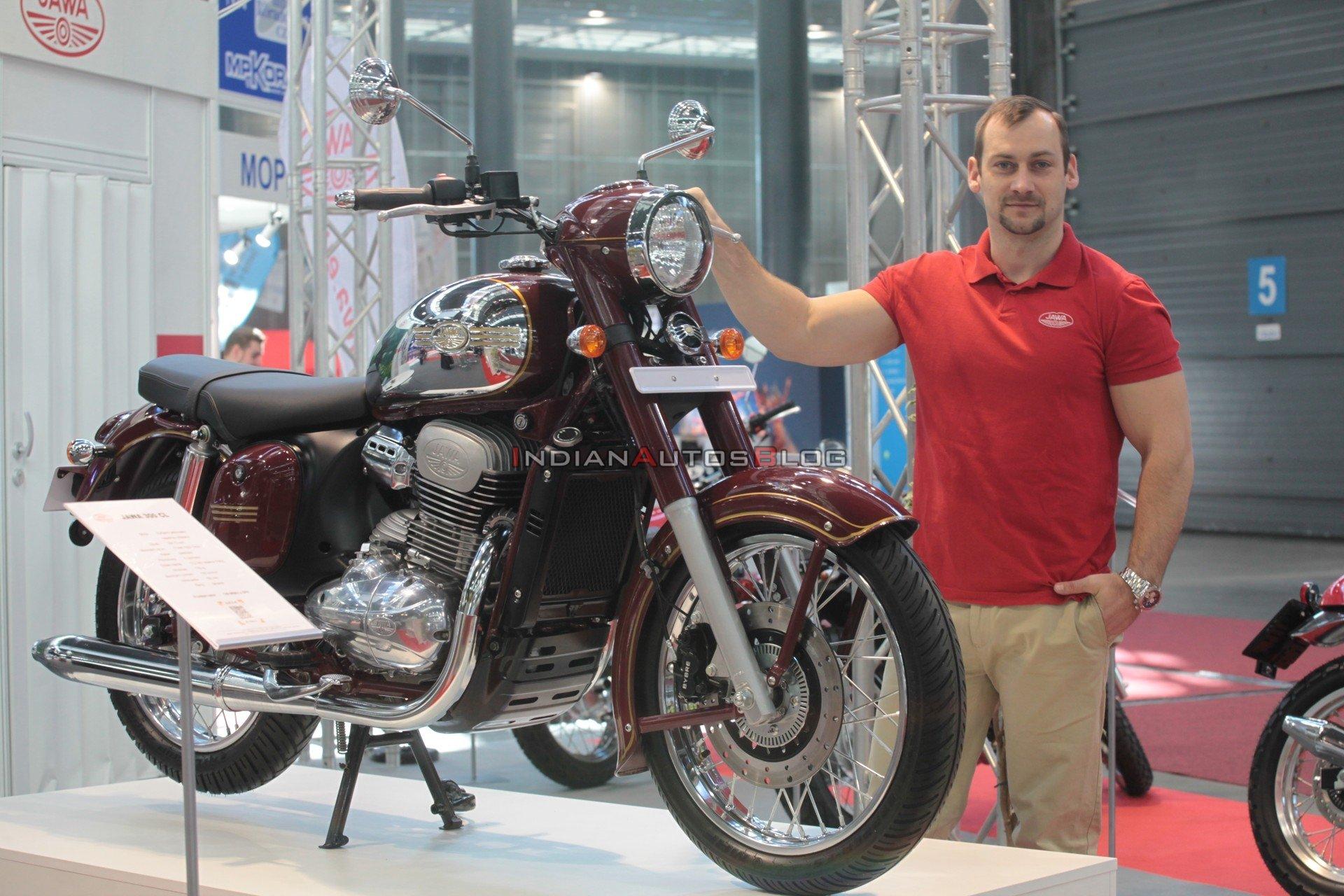 Мотоциклы «Ява» появятся в продаже на европейском рынке