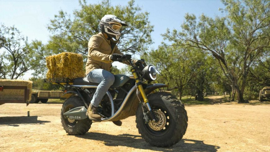 Volcon представил электрический мотоцикл Grunt