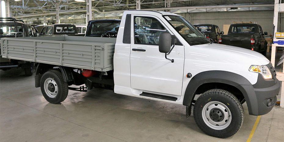 В России начались продажи битопливного УАЗ «Профи»