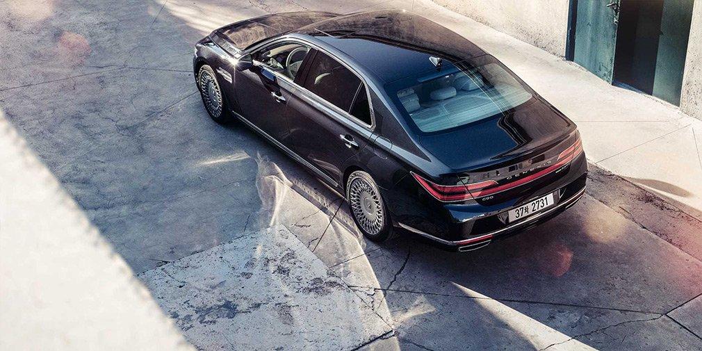 Genesis показал новые комплектации топового седана G90